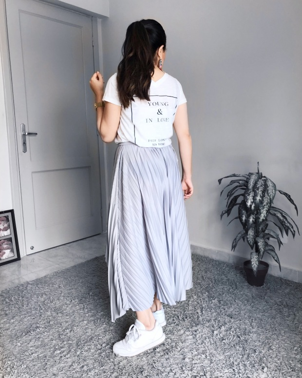 Four different ways to style skirt summer 2018